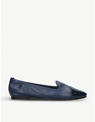 Carvela Mercy patent-detail leather loafers