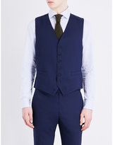 Richard James Single-breasted Stretch-wool Waistcoat