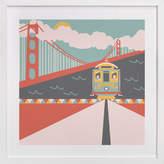 Minted San Fran Self-Launch Children's Art Print