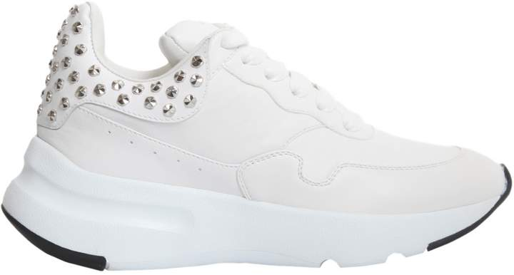Alexander McQueen Sneakers With Rubber Running Sole