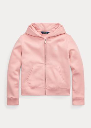 Ralph Lauren Cotton-Blend-Fleece Full-Zip Hoodie