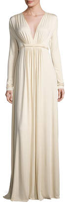 Rachel Pally Plus Size Long-Sleeve Full-Length Caftan Dress