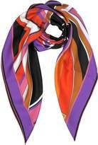 Emilio Pucci Stella Printed Twill Silk Square Scarf