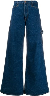 Aries Flared Style Jeans