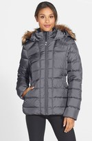 The North Face 'Gotham' Faux Fur Trim Down Jacket