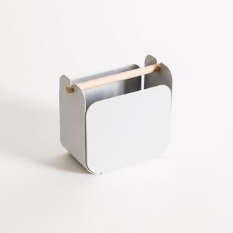 U Brands Arc Pencil Metal Cup Grey