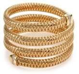 Roberto Coin Primavera Diamond & 18K Yellow Gold Four-Row Wrap Bracelet