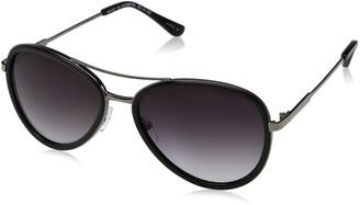 H Halston Women's HH 627 Aviator Fashion Designer UV Protection Sunglasses