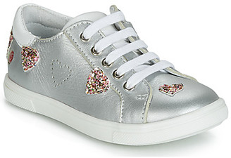 GBB ASTOLA girls's Shoes (Trainers) in Silver