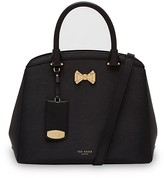 Ted Baker Curved Bow Small Leather Satchel