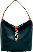 Dooney & Bourke Wexford Leather Small Logo Lock Sac