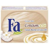 Fa Cacao Butter and Oil Cream Soap by 100g Bar)