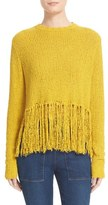 A.L.C. Women's Andreas Fringe Silk Blend Sweater