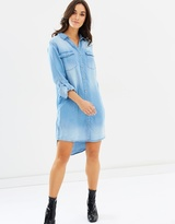DECJUBA Elise Chambray Shirt Dress