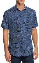 Robert Graham Colonel Tigh Short Sleeve Classic Fit Button-Down Shirt