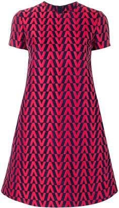Valentino brocade mini dress