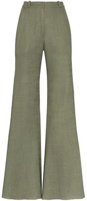 Adriana Degreas wide leg high-waisted trousers