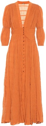 Cult Gaia Willow cotton-blend maxi dress