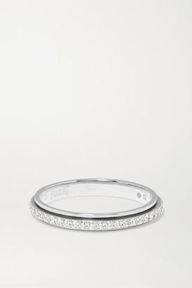 Piaget Possession 18-karat Platinum Diamond Ring - Silver