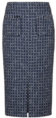 Winser London Metallic Tweed Skirt