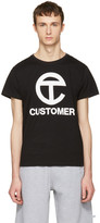 Telfar Black customer T-shirt