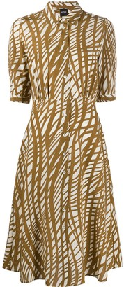 Aspesi All-Over Print Dress