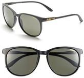 Smith Women's 'Mt Shasta' 55Mm Cat Eye Sunglasses - Matte Black/ Polar Gray Green