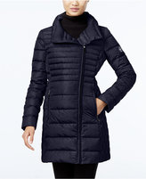 MICHAEL Michael Kors Asymmetrical Down Packable Puffer Coat