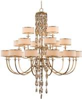 John-Richard Collection John Richard Counterpoint Collection twenty one light chandelier