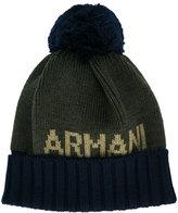 Armani Junior knitted beanie