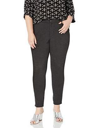 Gloria Vanderbilt Women's Plus Size Vickie Ponte Pant