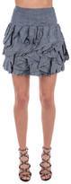 Dondup Ruffled Mini Skirt