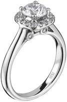 """Scott Kay Luminaire"""" Semi Mount Diamond Engagement Ring in Palladium (1/3 cttw)"""