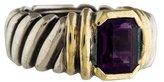 David Yurman Two-Tone Amethyst Ring