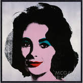 McGaw Graphics Liz, 1963 by Andy Warhol (Framed)
