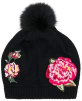 Dolce & Gabbana embroidered roses beanie