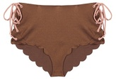 Marysia Swim Palm Springs Tie bikini bottoms