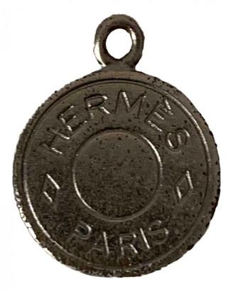 Hermã ̈S HermAs Clou de Selle Silver Silver Pendants