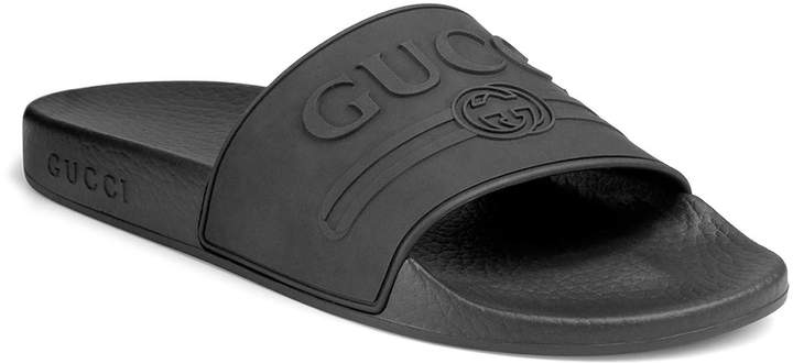 3156c403e Gucci Rubber Sandals - ShopStyle