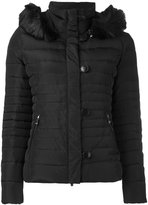 Armani Jeans padded jacket - women - Feather Down/Acrylic/Modacrylic/Polyester - 40