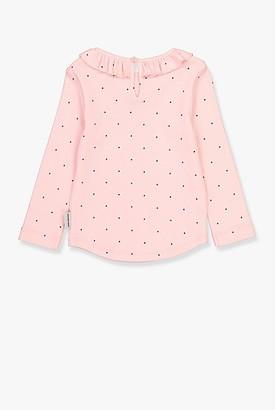 Country Road Pin Dot Frill T-Shirt