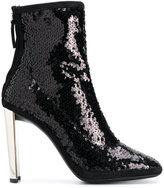Giuseppe Zanotti Design Luce sequin booties