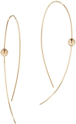 Lana 14K Yellow Gold Hoop Earrings