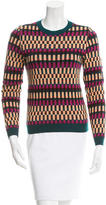 Kenzo Patterned Wool-Blend Sweater