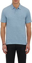John Varvatos Men's Logo-Embroidered Cotton Polo Shirt-LIGHT BLUE, BLUE