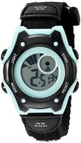 American Design Machine Jr. Kids' ADSG 5003 MBLK Hudson Digital Display Japanese Quartz Black Watch