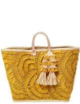 Mar y Sol Women's Santorini Crochet Tote