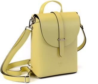 Hiva Atelier Liber Leather Bag Lemon