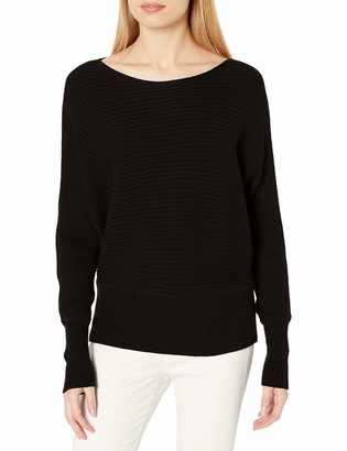 Daily Ritual Ultra-Soft Horizonal Knit Dolman Sweater