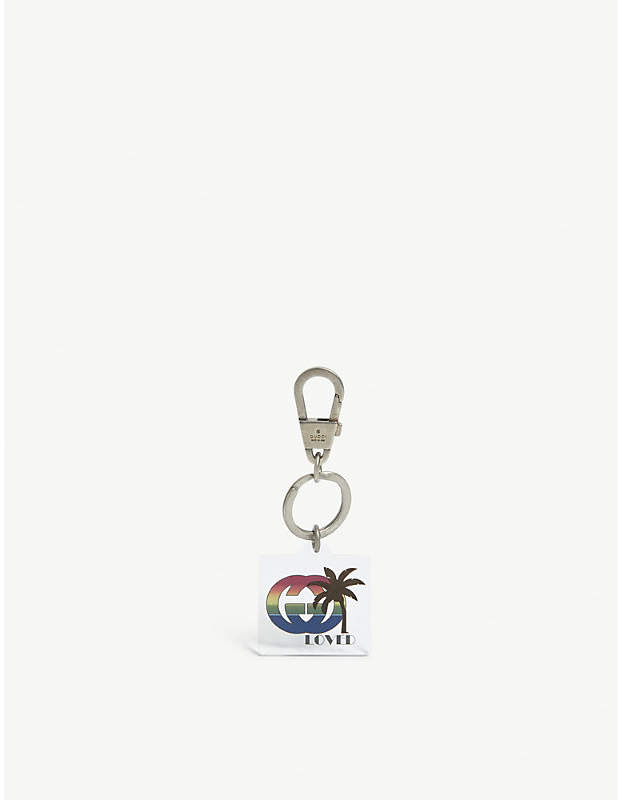 Gucci Loved palm tree keyring